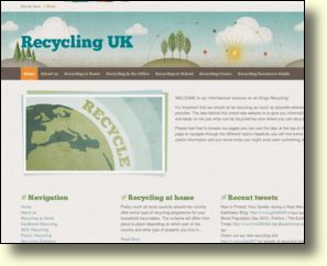 WebSite: Recycling Information