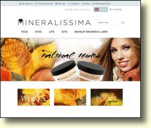 WebSite: Mineralissima mineral makeup